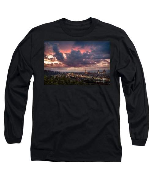 Piazzale Michelangelo Long Sleeve T-Shirt by Giuseppe Torre