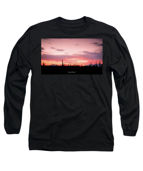 Picacho Sunset Long Sleeve T-Shirt
