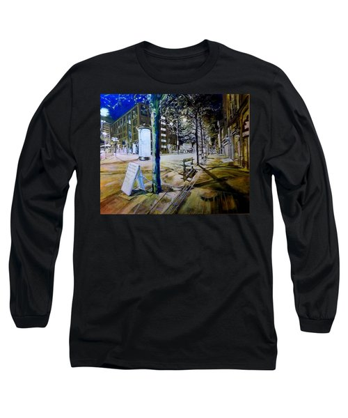 Piccadilly Gardens, Manchester Long Sleeve T-Shirt