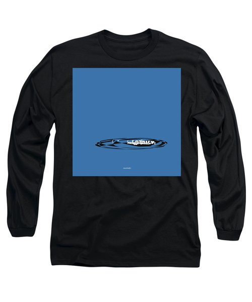 Long Sleeve T-Shirt featuring the digital art Piccolo In Blue by Jazz DaBri