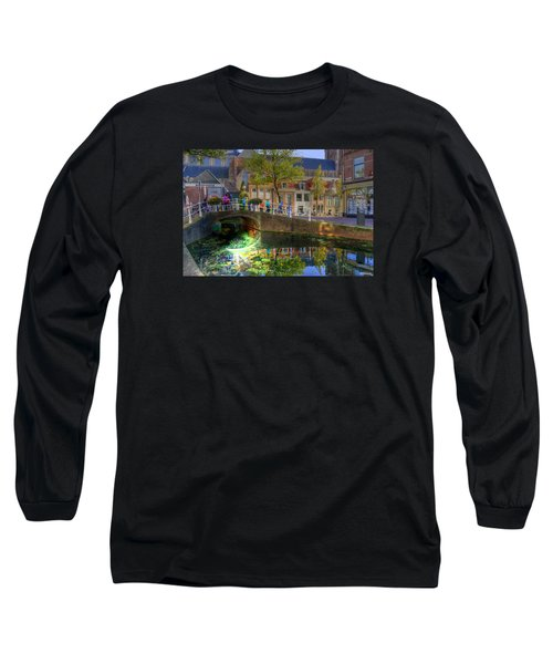 Picturesque Delft Long Sleeve T-Shirt by Uri Baruch