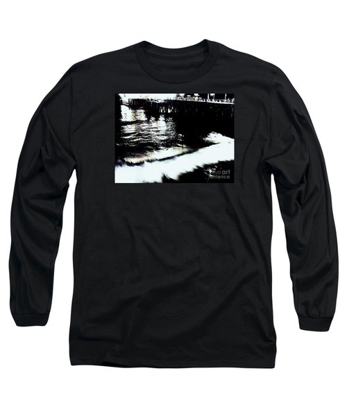 Long Sleeve T-Shirt featuring the photograph Pier by Vanessa Palomino