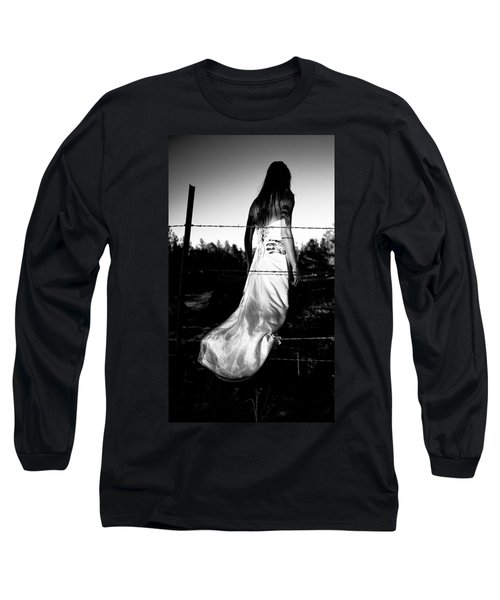 Pierced Dress Long Sleeve T-Shirt
