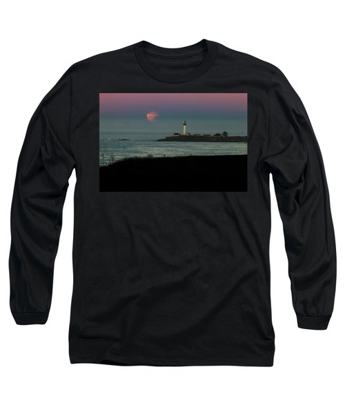 Pigeon Point Supermoonset Long Sleeve T-Shirt
