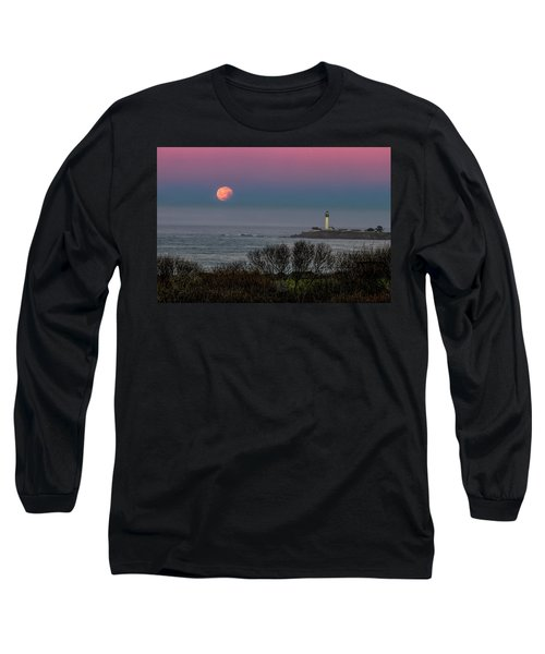 Pigeon Point Supermoon Long Sleeve T-Shirt