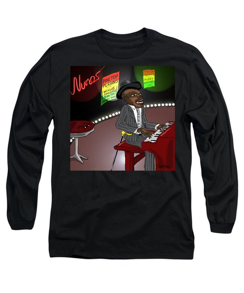 Pinetop Perkins Long Sleeve T-Shirt