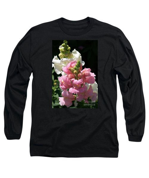 Long Sleeve T-Shirt featuring the photograph Sweet Peas by Eunice Miller