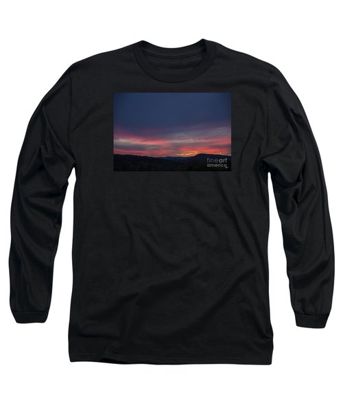 Long Sleeve T-Shirt featuring the photograph Pink Clouds by Alana Ranney