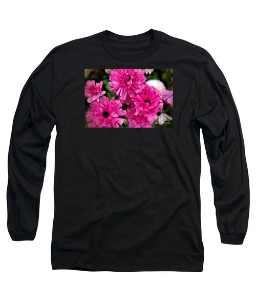 Long Sleeve T-Shirt featuring the photograph Pink by Diana Mary Sharpton