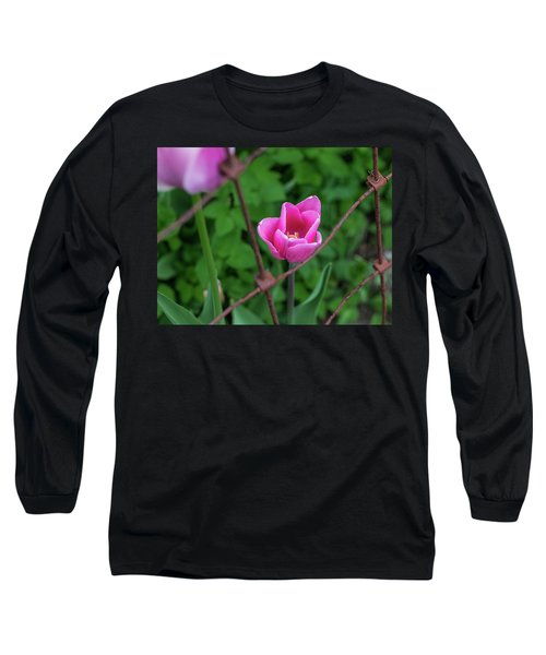 Pink In Stratford Long Sleeve T-Shirt