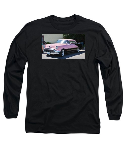 Pink Is A Color Long Sleeve T-Shirt by Al Fritz