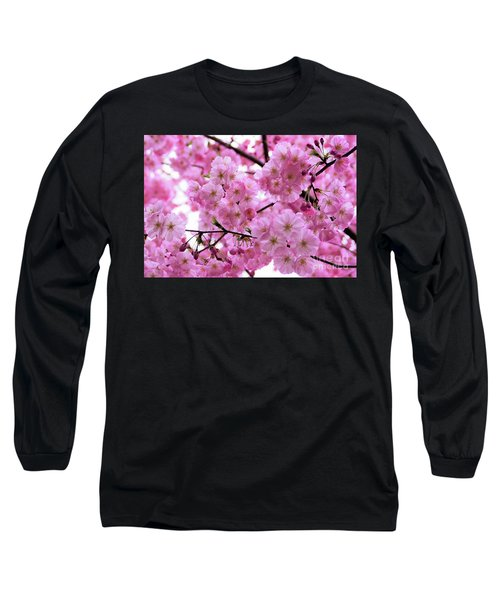 Pink Parasols Long Sleeve T-Shirt