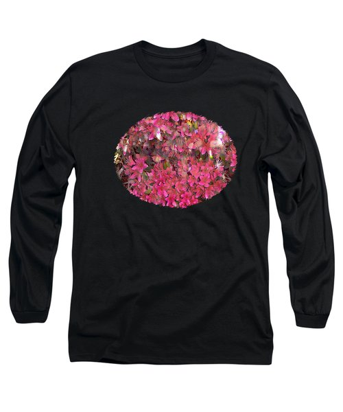 Pink Rhododendron Long Sleeve T-Shirt