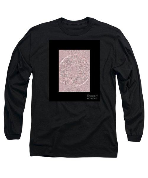 Long Sleeve T-Shirt featuring the digital art Pink Ring. Special by Oksana Semenchenko