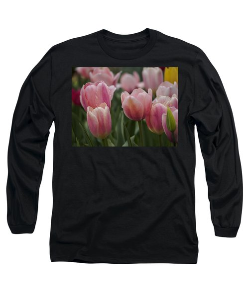 Pink Spring Long Sleeve T-Shirt