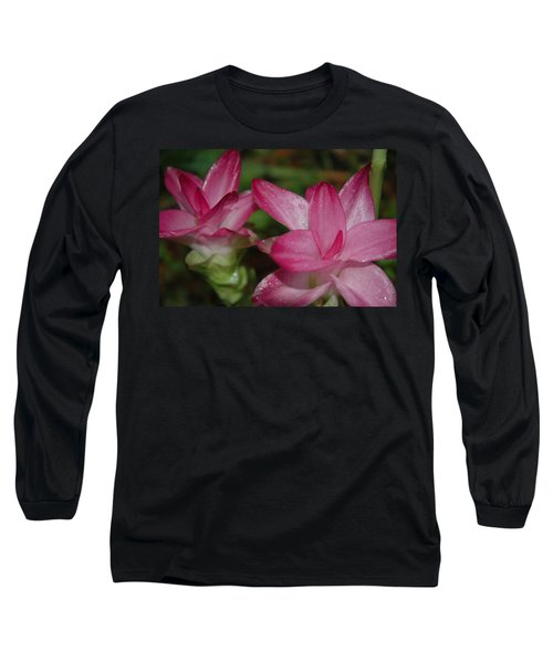 Pink Twins Long Sleeve T-Shirt