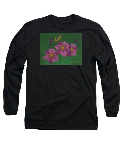Pink Whispers Long Sleeve T-Shirt