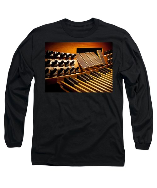 Pipe Organ Pedals Long Sleeve T-Shirt