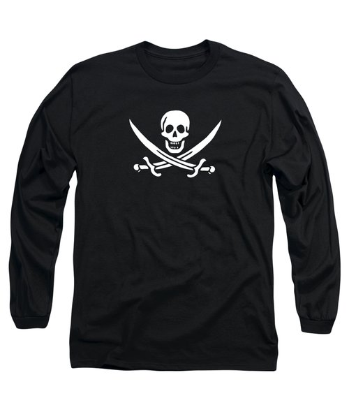 Pirate Flag Jolly Roger Of Calico Jack Rackham Tee Long Sleeve T-Shirt