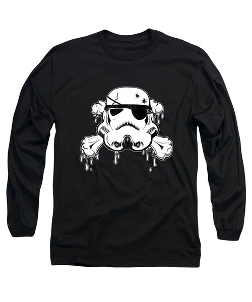 Pirate Trooper Long Sleeve T-Shirt by Nicklas Gustafsson