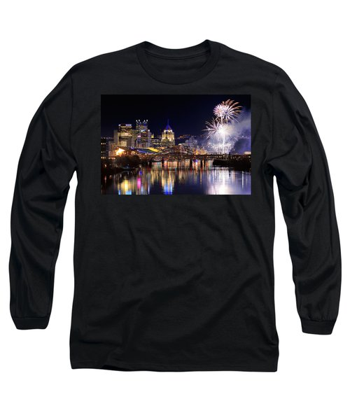 Pittsburgh 1  Long Sleeve T-Shirt by Emmanuel Panagiotakis