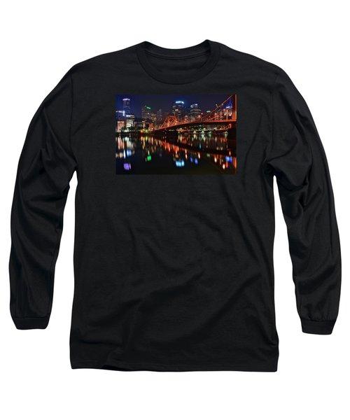 Pittsburgh Lights Long Sleeve T-Shirt
