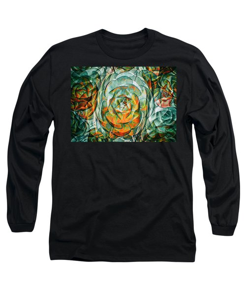 Long Sleeve T-Shirt featuring the photograph Plant Abstract by Wayne Sherriff