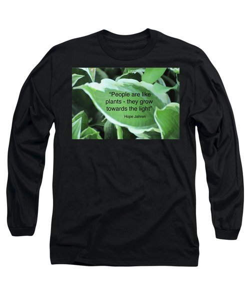 Plants Long Sleeve T-Shirt