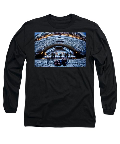 Playful Ladies By Chicago's Bean  Long Sleeve T-Shirt
