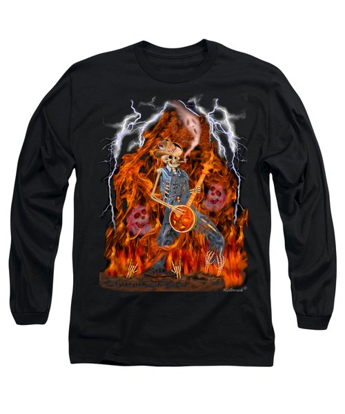 Playing With Fire Long Sleeve T-Shirt by Glenn Holbrook