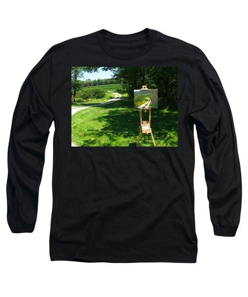 Plein Air Painter's Studio Long Sleeve T-Shirt