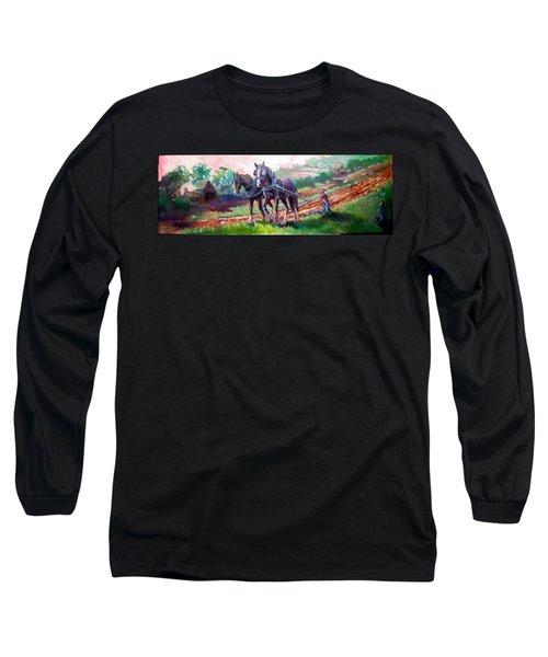 Ploughing Long Sleeve T-Shirt