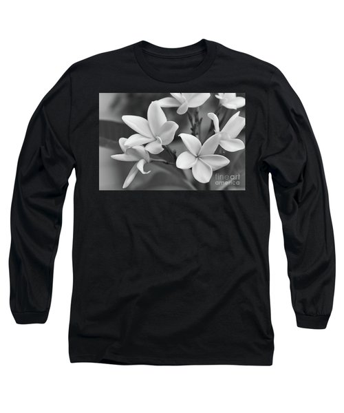 Plumeria Flowers Long Sleeve T-Shirt