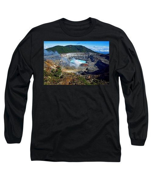 Poas Volcano Long Sleeve T-Shirt