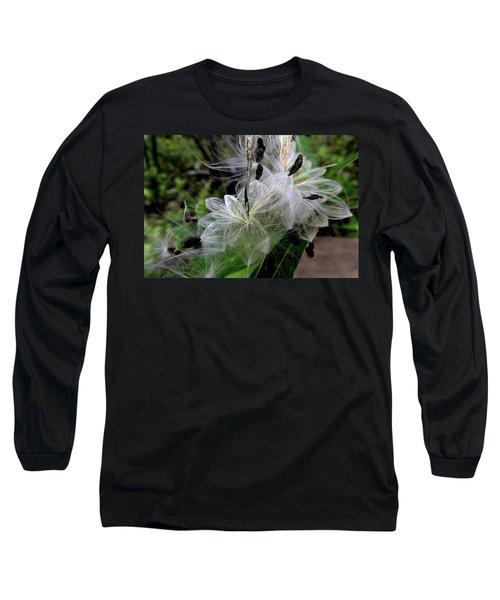 Pods Wide Open Long Sleeve T-Shirt