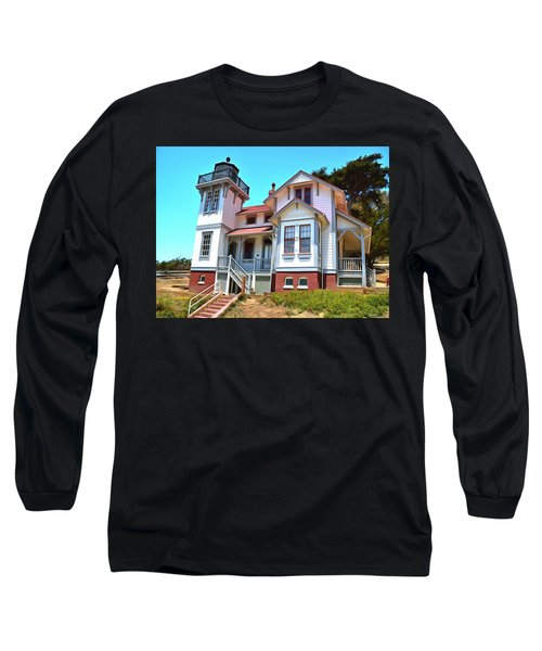 Long Sleeve T-Shirt featuring the photograph Point San Luis Lighthouse by Floyd Snyder