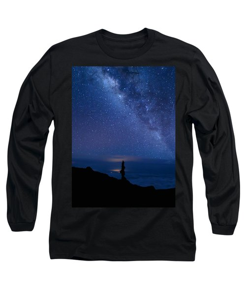 Pointing To The Heavens Long Sleeve T-Shirt