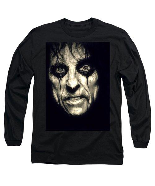 Poison Alice Cooper Long Sleeve T-Shirt