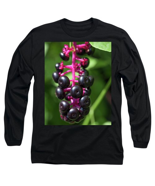 Pokeweed Cluster Long Sleeve T-Shirt