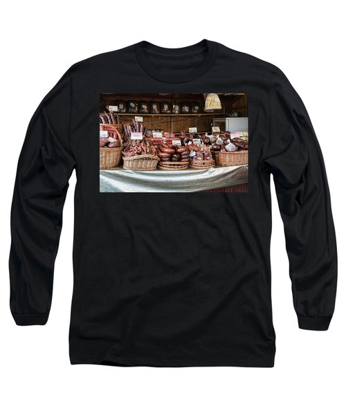 Poland Meat Market Long Sleeve T-Shirt