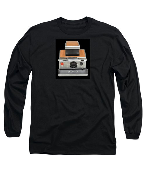 Polaroid Sx-70 Land Camera Long Sleeve T-Shirt by Brian Duram