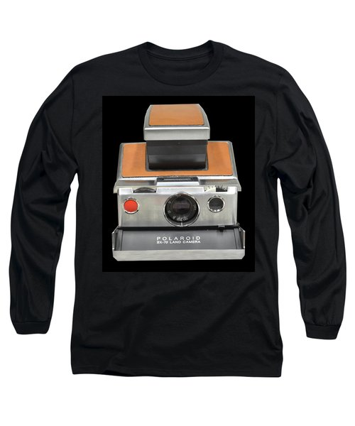 Polaroid Sx-70 Land Camera Long Sleeve T-Shirt