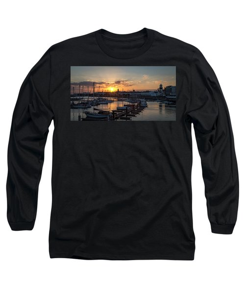Ponta Delgada Sunset Long Sleeve T-Shirt