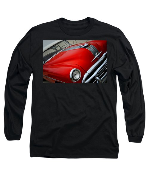 Pontiac Chieftain 1954 Front Long Sleeve T-Shirt