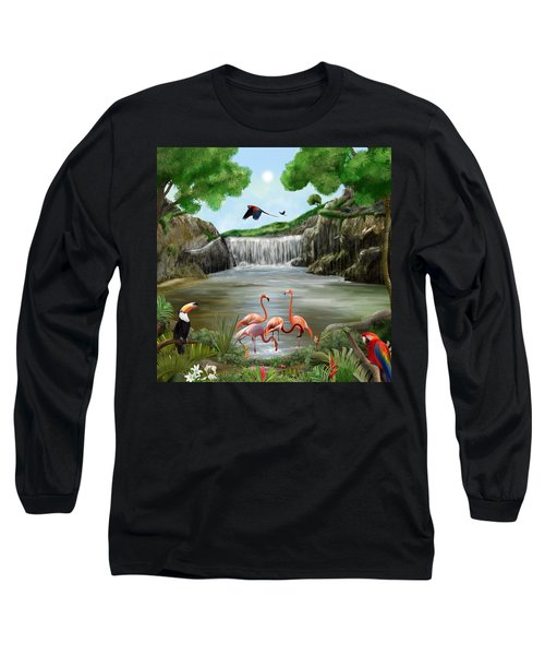 Pool Party Long Sleeve T-Shirt