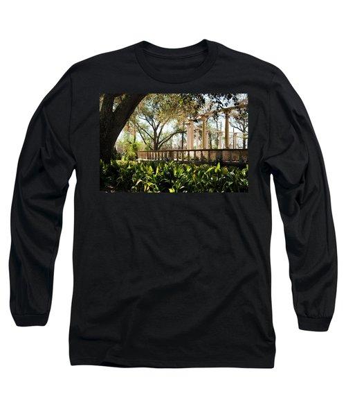 Popp's Fountain Long Sleeve T-Shirt