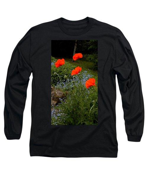 Poppy Foursome Long Sleeve T-Shirt