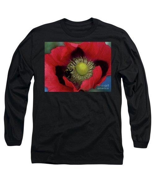 Poppy Love Long Sleeve T-Shirt