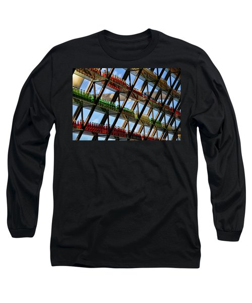 Long Sleeve T-Shirt featuring the photograph Pop's Bottles by Lana Trussell