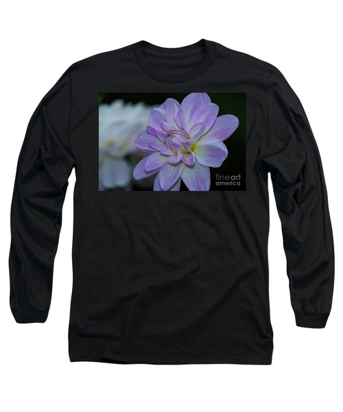 Porcelain Dahlia Long Sleeve T-Shirt